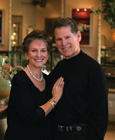 Elizabeth and Bill of McCaskill & Company Jewelers