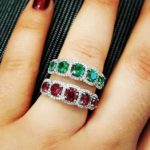 SimonG red and green rings